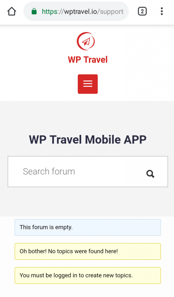 WP Travel Android Mobile App - WP Travel