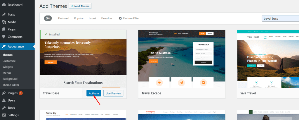 Steps ofa website like airbnb