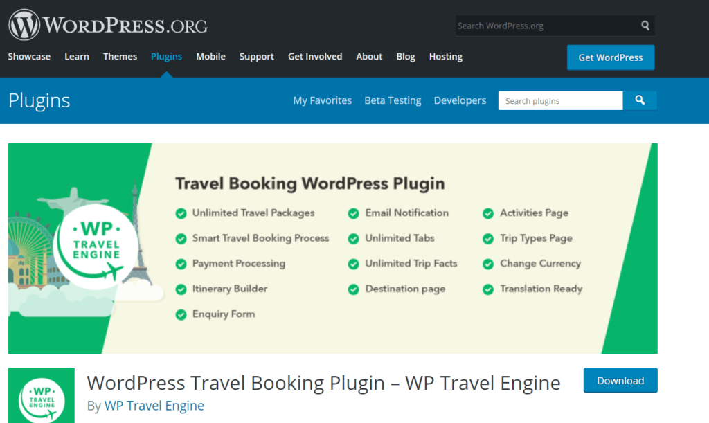 WordPress plugins for tourism
