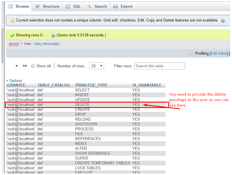 solving cart empty issue