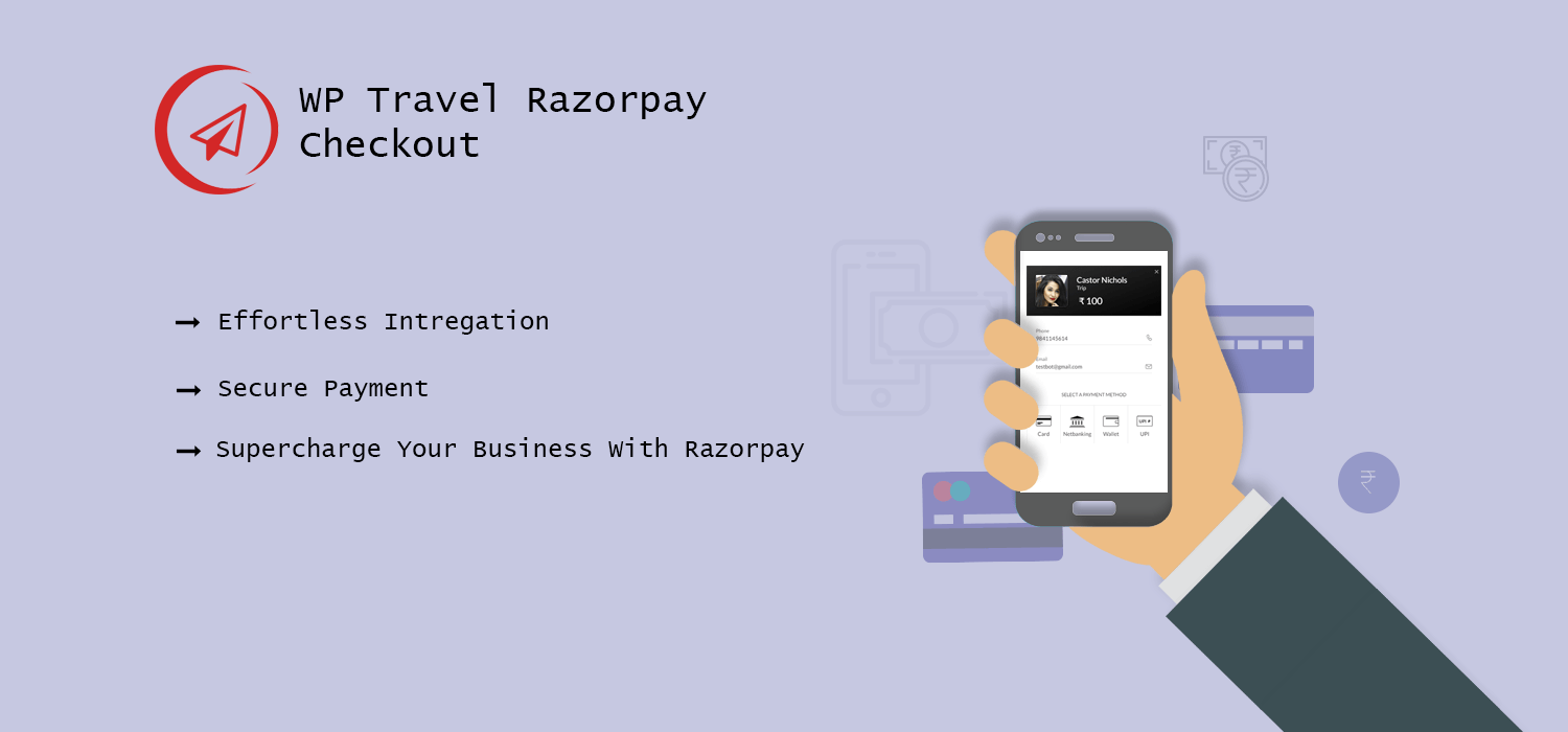 WordPress RazorPay Payment Plugin for Indian Travel & Tour Website